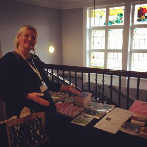 Shalla at the Scottish book Trade Conference