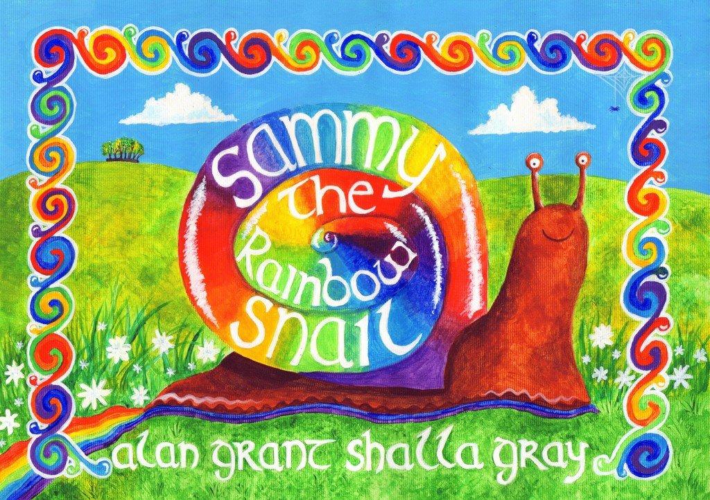 Sammy the rainbow snail