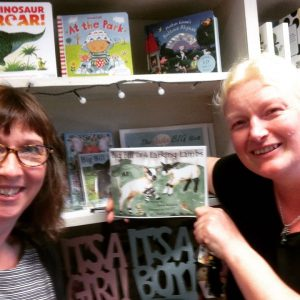 The new book arrives at our Wigtown bookshop