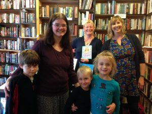 Curly Tale Books meets Moffat Bookshop