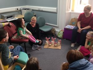Mini Maxwell tour at Langholm Library