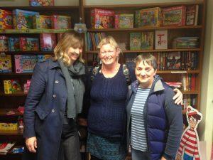 Jayne, Shalla and Fiona